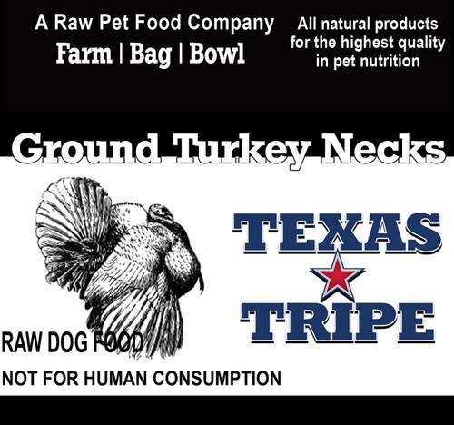 Ground Turkey Necks 20 lb case