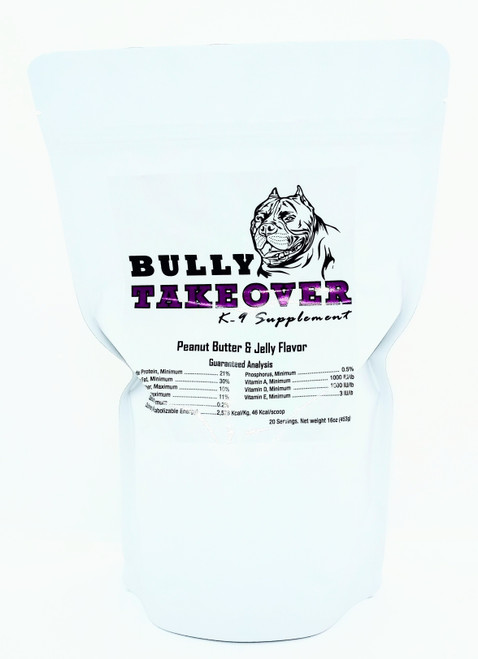 Bully Takeovers Peanutbutter & Jelly Flavor 16 oz