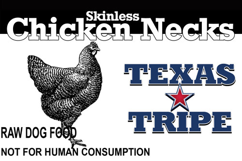 Skinless Chicken necks 33 lb case