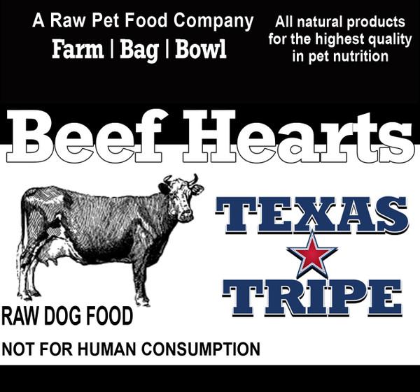 Beef Hearts 16 lb. case