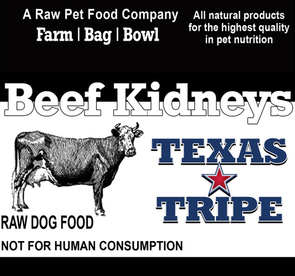 Beef Kidneys (Whole)  18 lb. case