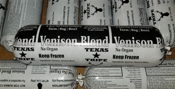 Venison W / Bone - 20 lb case