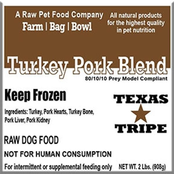 Turkey/Pork Blend - 20 lb case