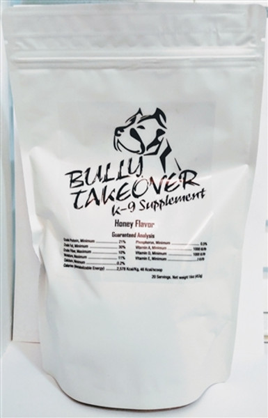Bully Takeovers Honey 16 oz