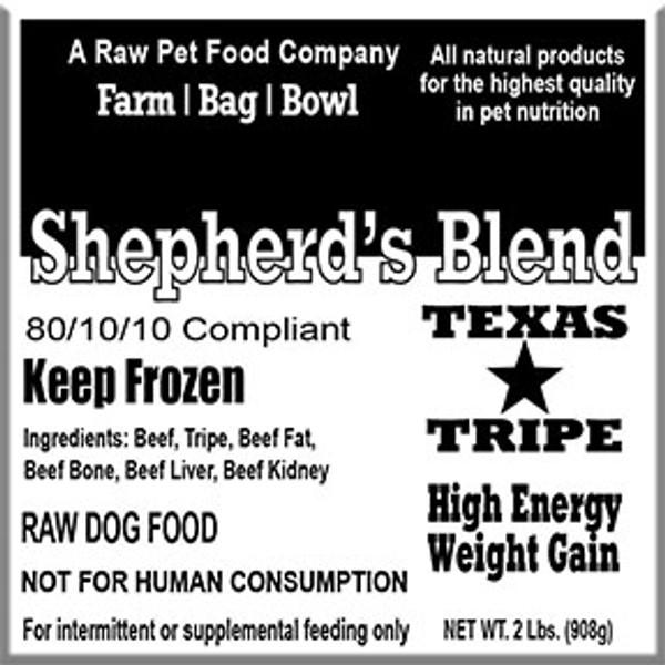 Shepherd's Blend - 20 lb case