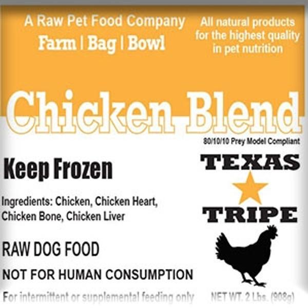 Chicken Blend 20lb case