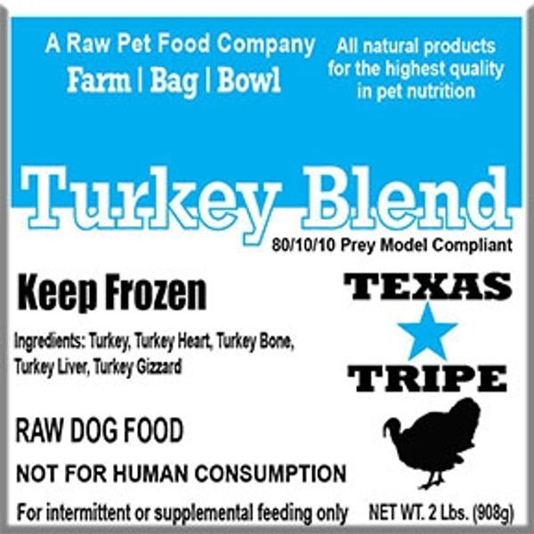 Turkey Blend 20 lb case