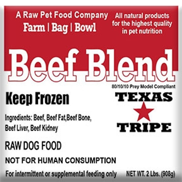 Beef Blend  - 20lb case
