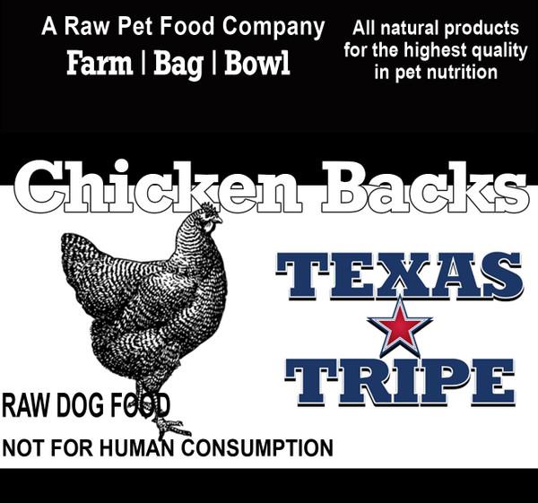 Chicken Backs 40lb case