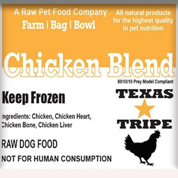 BULK PACK Chicken Blend 40lb case