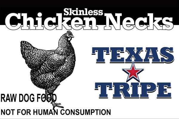 Skinless Chicken necks 33 lb case