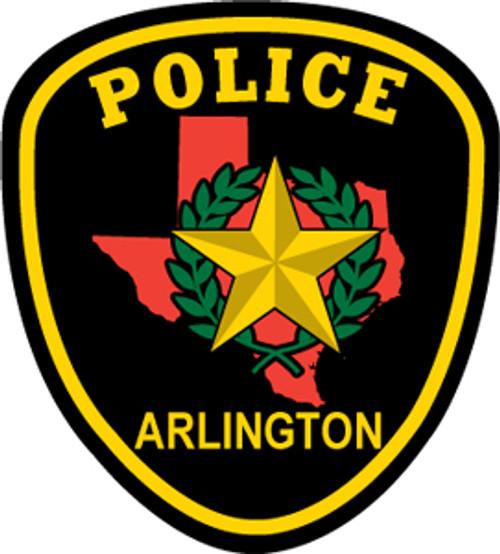 Arlington Texas Police Department - Patch Plaque