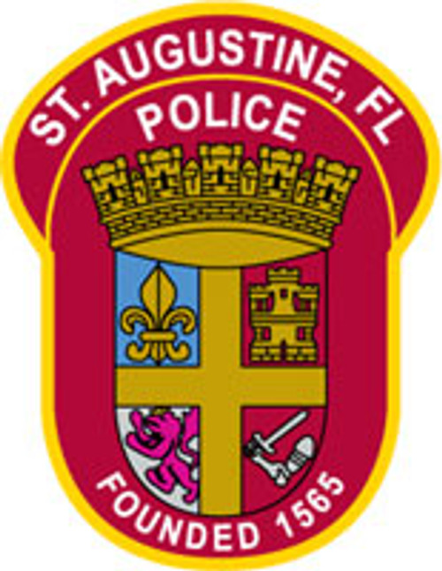 St. Augustine Police Patch Plaque