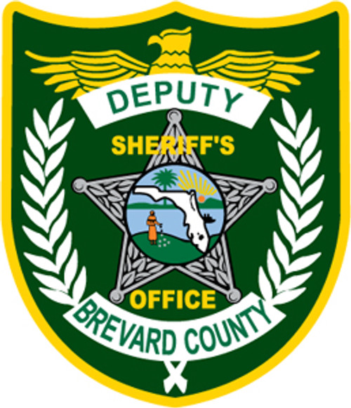 Brevard County Sheriff's Office Patch Plaque