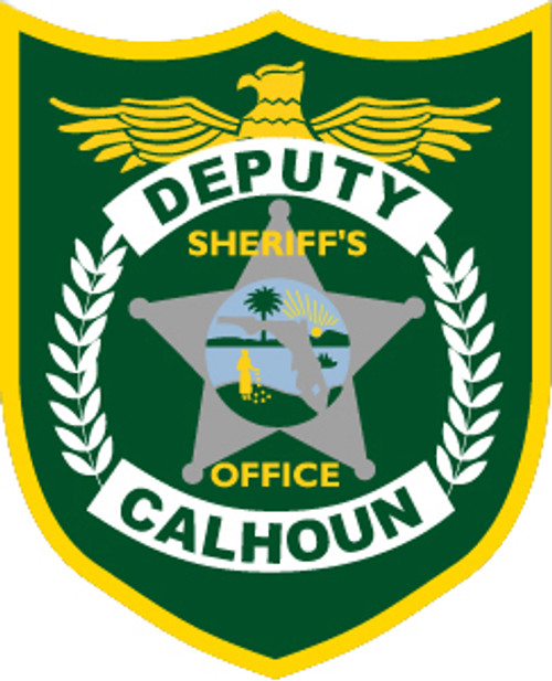 Calhoun County Sheriff's Office Patch Plaque