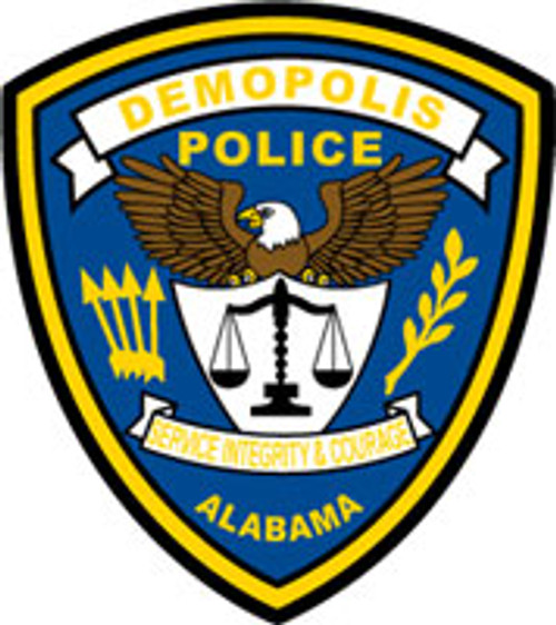 Demopolis Police Department Patch Plaque
