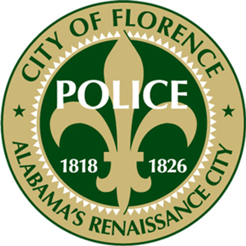 Florence Police Department Patch Plaque