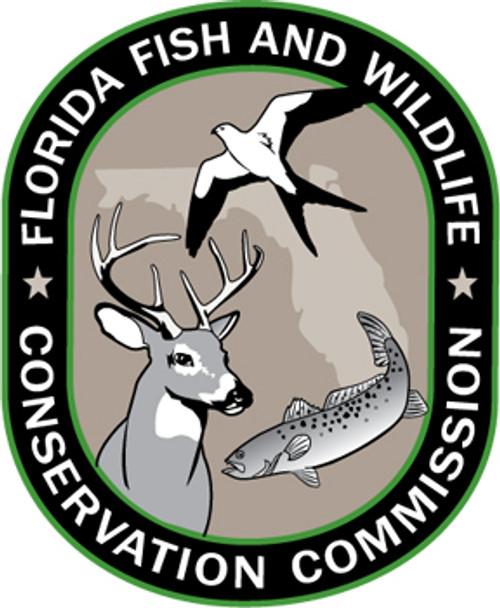 FL Fish & Wildlife Conservation Commission Patch Plaque