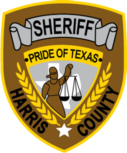 Harris County Sheriff's Office Patch Plaque