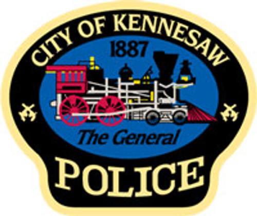 Kennesaw Police Patch Plaque