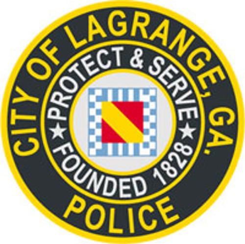 LaGrange Police Patch Plaque