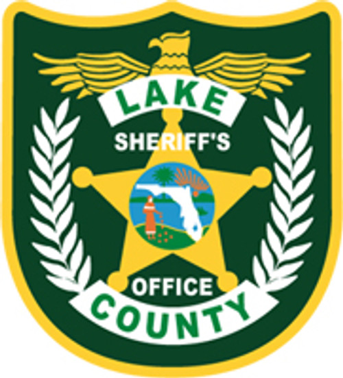 Lake County Sheriff's Office Patch Plaque
