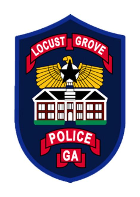Locust Grove Police Plaque