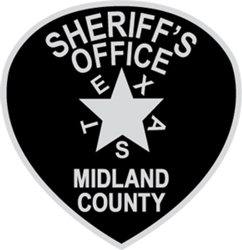 Midland County Sheriff's Office Texas - Patch Plaque