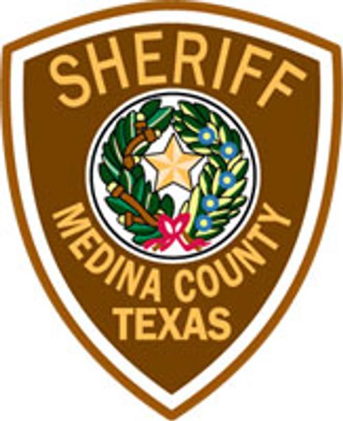 Medina County Sheriff's Patch Plaque