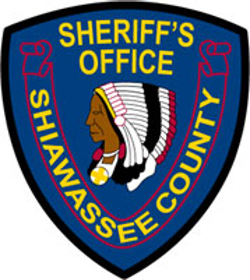 Shiawassee County Sheriff'S Patch Plaque
