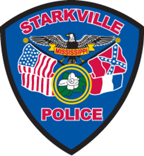 Starkville Police Department Patch Plaque