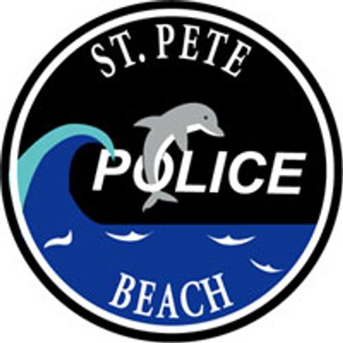 St. Pete Beach Police Patch Plaque