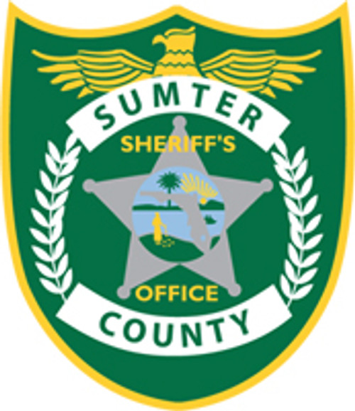 Sumter County Sheriff's Office Patch Plaque