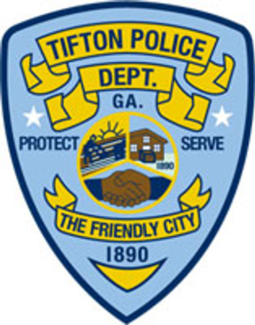 Tifton Police - Patch Plaque