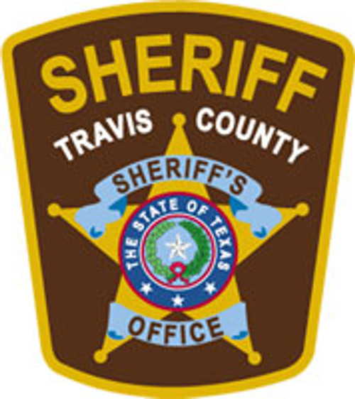 Travis County Sheriff's Office Patch Plaque