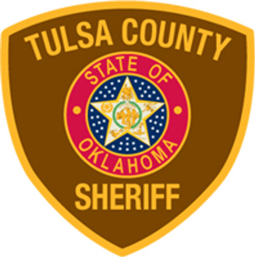 Tulsa County Sheriff's Patch Plaque
