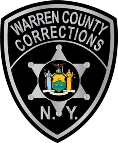 Warren County Corrections Patch Plaque
