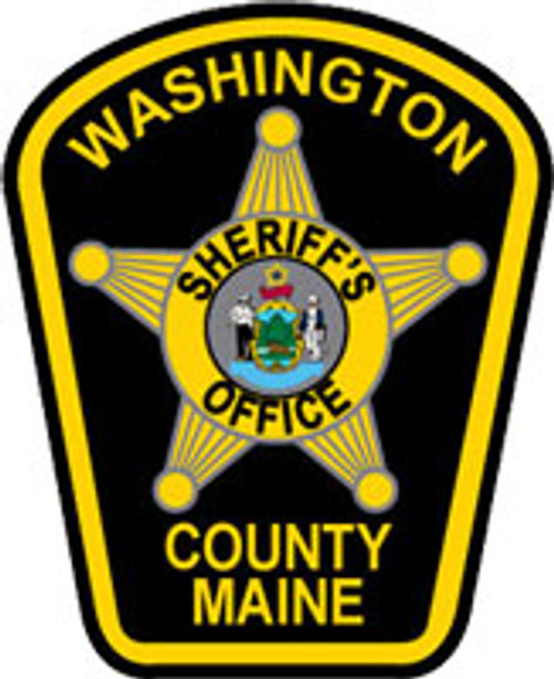 Washington County ME Sheriff's Office Patch Plaque