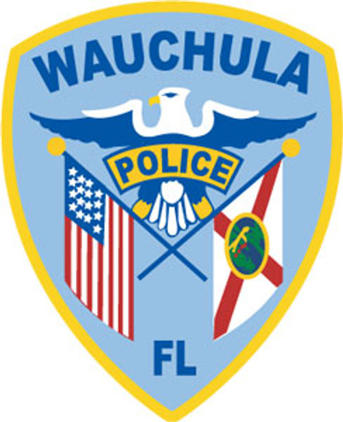 Wauchula Police Patch Plaque
