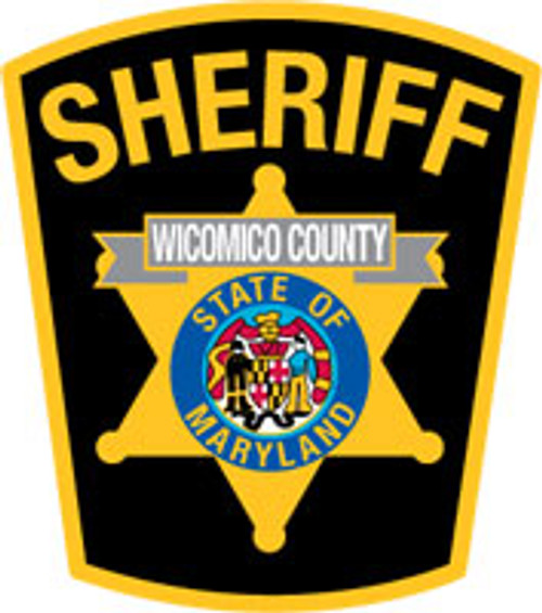 Wicomico County Sheriff's Office Patch Plaque