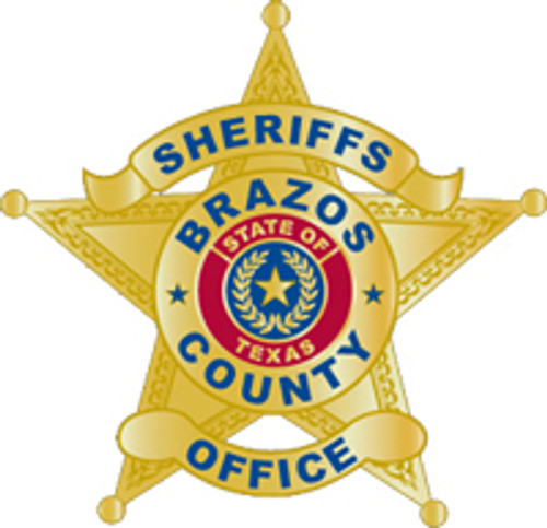 Brazos County Sheriff's Star Plaque