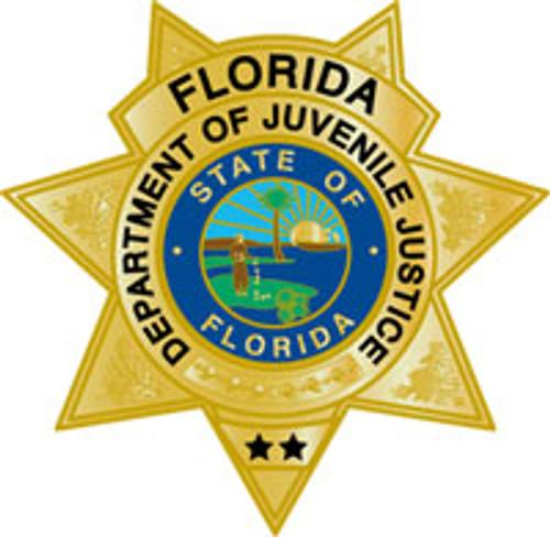 FL Department of Juvenile Justice Star Plaque