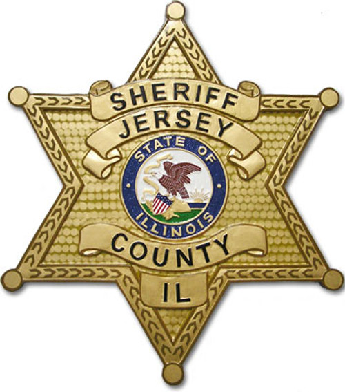 Jersey County Sheriff's Department Star Plaque