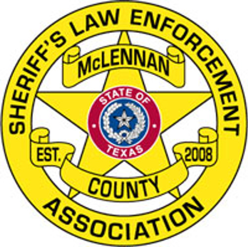 Sheriff's Law Enforcement Association of McLennan County Star Plaque
