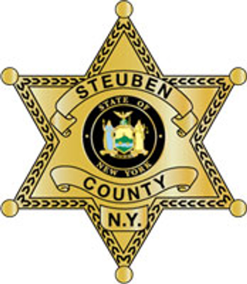 Steuben County Sheriff's Office Star Plaque