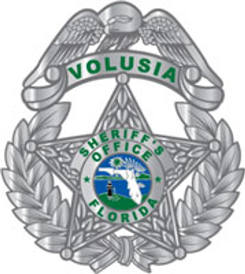 Volusia County Sheriff's Silver Star Plaque