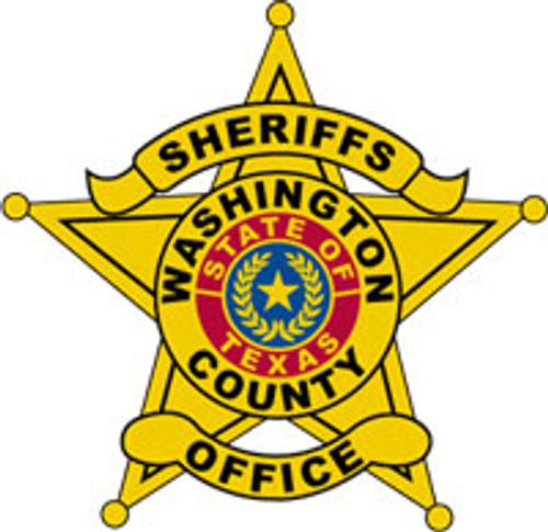 Washington County Sheriff's Office Star Plaque