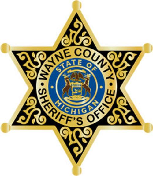 Wayne County Sheriff's Star Plaque