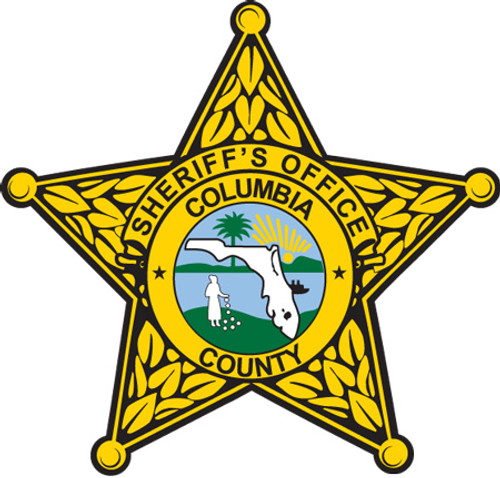 Columbia County Sheriff's Gold Star Patch
