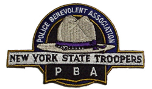 NYS Troopers PBA PATCH